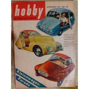 VINTAGE περιοδικο Hobby (γερμανικα) 1954 Technik, επιστημες