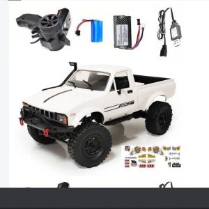 WPL C24 1/16 2.4G 4WD Crawler RTR Truck RC Car Full Proportional Control Two Battery