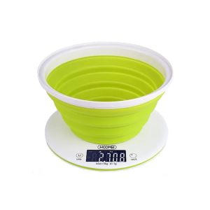 20Ε Ψηφιακή ζυγαριά κουζίνας Οθόνη LCD 58x27mm με οπίσθιο φωτισμό Μέγιστο βάρος: 5 κιλά