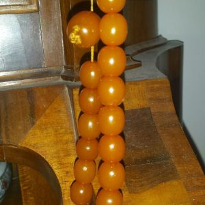 Κεχριμπάρι κομπολόι Antique baltic amber αυθεντικό