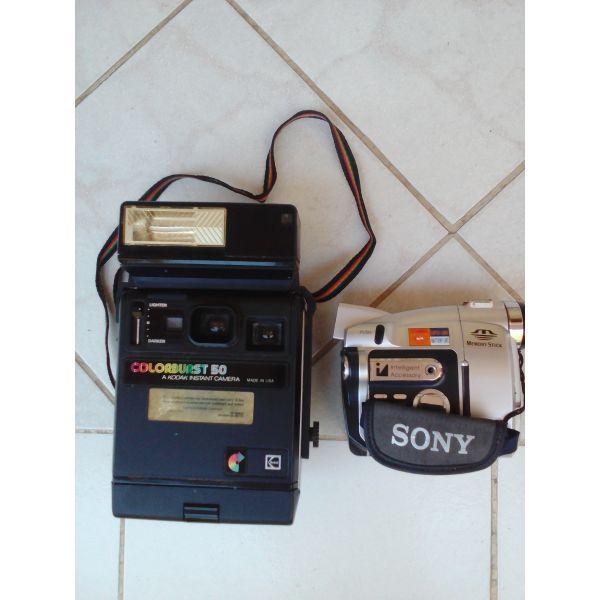 fotografiki michani stigmiea, Sony video camera