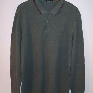 XXL Fred Perry polo shirt μακρυμάνικο