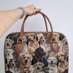 Τσάντα με σκύλους