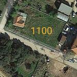 οικόπεδο 1,100 τμ
