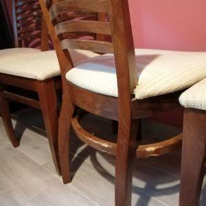 Πωλούνται καρέκλες ξύλινες τραπεζαριας