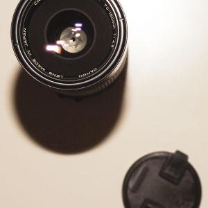 Φακός Canon FD Zoom 70 - 150mm, F/ 4,5 - 32,  Made in Japan