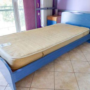 Κρεβάτι Μονό NEOSET + στρώμα