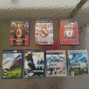 PS2/PS3 GAMES - FOOTBALL EDITION