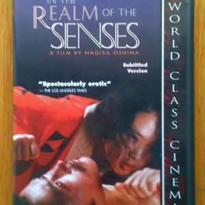 In the realm of the senses dvd