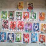 Καρτες ποδοσφαίρου TOPPS.. 20 τμχ.. Διαφόρων ετων..