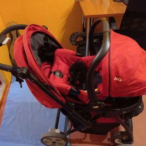 Καροτσι και κάθισμα μωρού της Joie