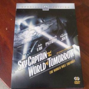 SKY CAPTAIN and the WORLD of TOMORROW , ORIGINAL DVD