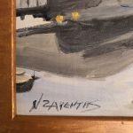 Ν Ζαρεντης Ζωγραφικη Υ 53cm , Π 58cm
