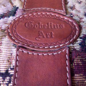 Vintage Gobelins Art γυναικεία τσάντα.