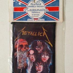 Ραφτό Σήμα Metallica Εποχής '90