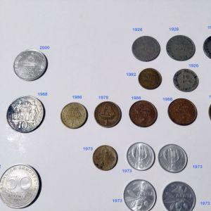 Παλιά νομίσματα, όλα 20 ευρώ