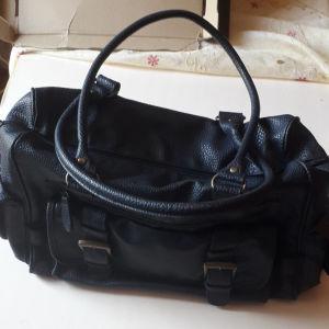 γυναικεία τσάντα μπλε μεγάλη accessorise μάρκας