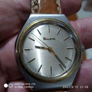 BULOVA κουρδιστό ρολόι