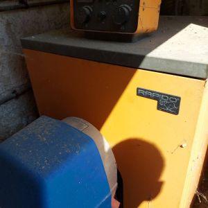 Πλήρες σύστημα καυστήρα πετρελαίου RAPIDO 50000 θερμίδες