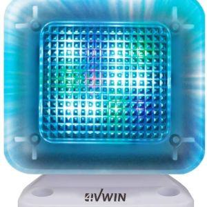 Προσομοιωτής τηλεόρασης LED οικιακής ασφάλειας 4VWIN TV Simulator με ενσωματωμένο ψηφιακό χρονοδιακόπτη και νυχτερινό φως