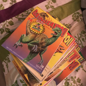 Παιδικα περιοδικα για δεινοσαυρους