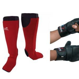 Βαμβακερή Επικαλαμίδα Κουτουπιε Olympus Large & Γάντια με μακρύ VELCRO μέγεθος Large