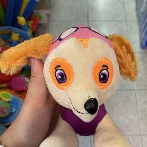 αρκουδάκι σκυλάκι ροζ