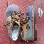 καινούρια παιδικά δερμάτινα παπούτσια size 20