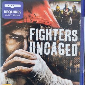 XBOX 360 Kinect - Fighters Uncaged