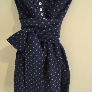 Vintage dress handmade S-M size