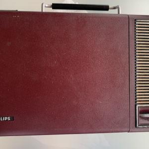 Πικάπ Philips φορητό με μπαταρίες
