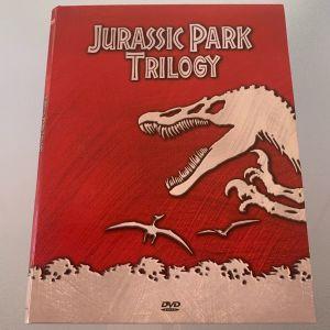 Jurassic park trilogy dvd