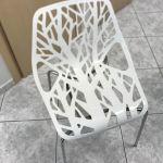 Καρέκλες από inox και pvc σε άριστη κατάσταση