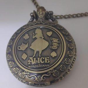 Ρολοι Τσεπης Alice In Wonderland