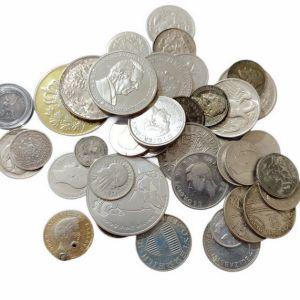 43 Ασημένια Ελληνικά και Ξένα Νομίσματα