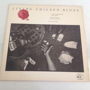 Various – Living Chicago Blues Volume Number 3. Δίσκος Βινυλίου 1978