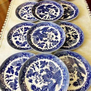 Σετ 6 ιαπωνικά πιάτα TAJIMI.  - Vintage 1950