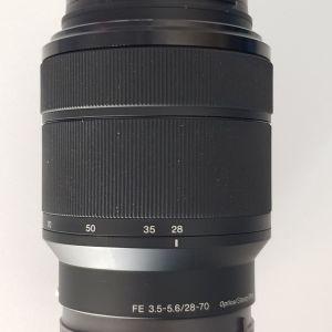 1.ΦΑΚΟΣ zoom Sony 28-70mm 3.5-5.6 e mount full frame με φιλτρο hoya