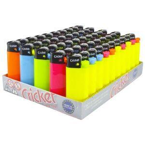 50 Αναπτήρες Cricket Mini Pastel Φωσφοριζέ
