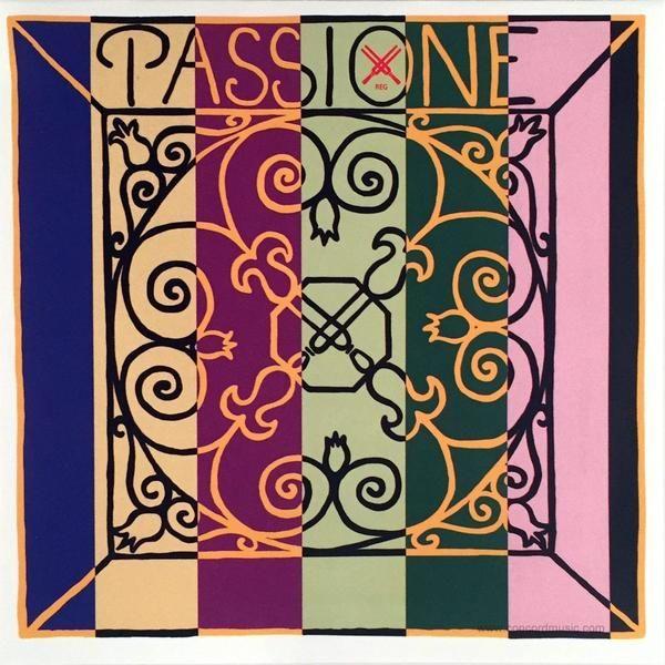 chordi violiou PIRASTRO - PASSIONE 2194 G Gut/Silver