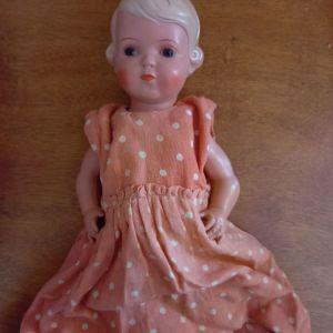 Αυθεντική κούκλα Schildkröt, 1950s