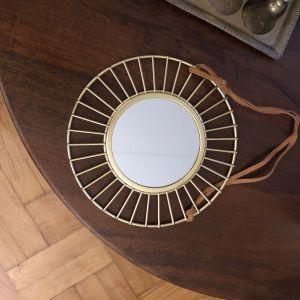 Στρογγυλός Καθρέπτης σε σχήμα Ήλιου