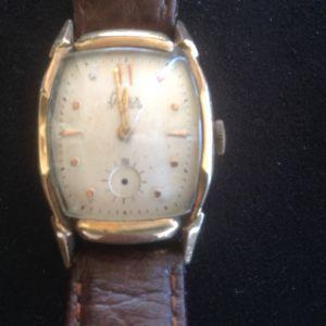 Χρυσό ρολόι BULOVA-αντικα