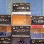 7 κασσετες ΜΕΤΑΛΛΟΥ TDK- MA 60 , JAPAN, απο αρχειο,γραμμενες μια φορα,κατασταση καινουριου,( 100  ολες μαζι)