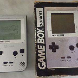 Game Boy pocket ΣΤΟ ΚΟΥΤΙ ΤΟΥ, κομπλε, αριστη κατασταση, για συλλεκτη