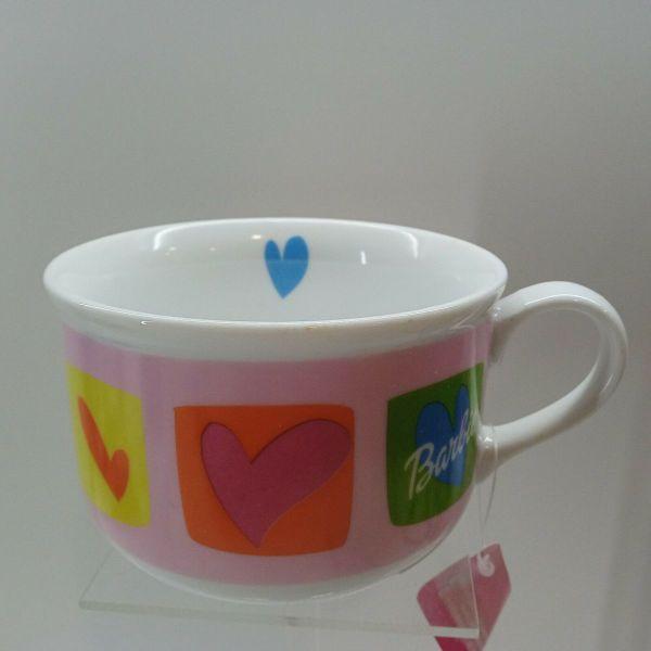 koupa OFFICIAL MUG TEA COFFEE CUP GIFT - MATTEL BARBIE HEARTS