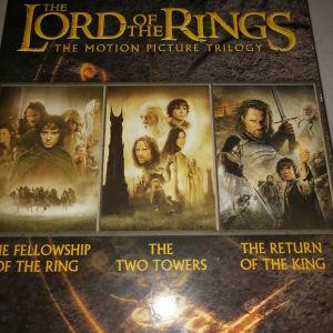 ο άρχοντας των δαχτυλιδιών trilogy