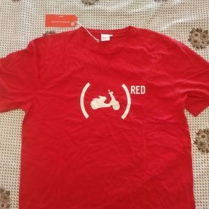 Τ-SHIRT VESPA RED