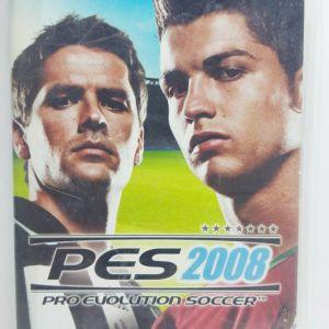 SONY PSP PRO EVOLUTION SOCCER PES 2008 EUROPEAN - USED