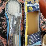 Σετ Badminton με τέσσερις ρακέτες και δίχτυ